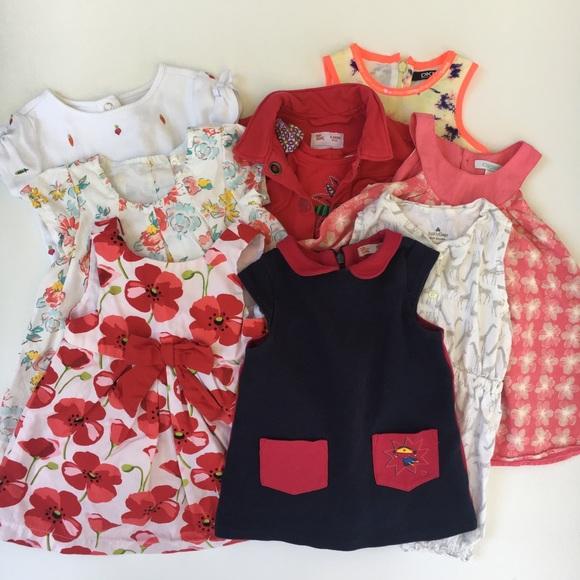 b383eedb782 GAP Other - Lot girl dresses romper 6-12 month spring summer